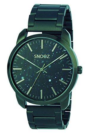 Snooz Męski analogowy zegarek kwarcowy z bransoletką ze stali szlachetnej Saa1043-60