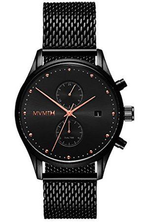 MVMT Męski multicyferblat kwarcowy zegarek z bransoletką ze stali szlachetnej D-MV01-BBRG
