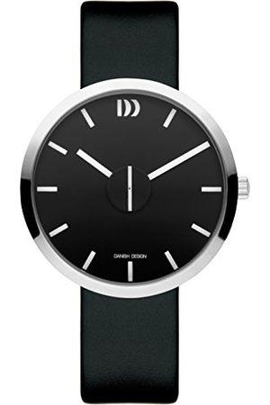 Danish Design Uniseks dla dorosłych analogowy zegarek kwarcowy ze skórzanym paskiem IQ13Q1198