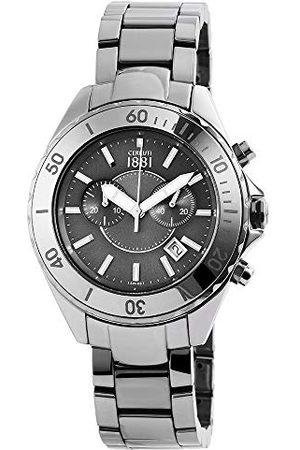 Cerruti 1881 Cerruti męski analogowy zegarek kwarcowy z ceramiczną bransoletką CRA077Z271H