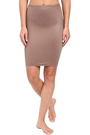 Spanx Damska spódnica dwustopniowa półhalf Slip M, beżowa (mineralny taupe/Naked2 000), 38 (rozmiar producenta: M)