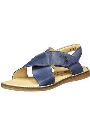 Däumling Vanessa sandały damskie z rzemykiem, - Blau Chalk Jeans 42-36 EU