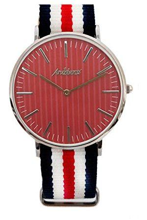 ARABIANS Męski analogowy zegarek kwarcowy z bransoletką z materiału HBA228I