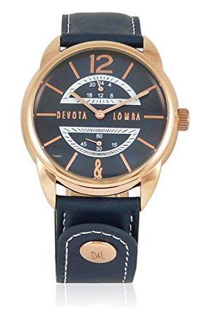 Devota & Lomba Zegarek z japońskim mechanizmem zegarowym 48 mm