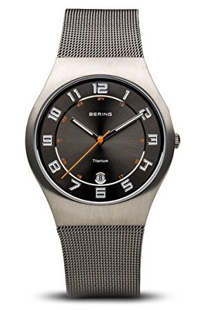 Bering Męski zegarek na rękę analogowy kwarcowy stal szlachetna 11937-007