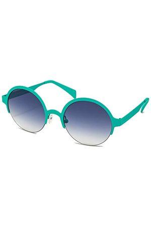 Italia Independent Unisex 0027-036-000 okulary przeciwsłoneczne, niebieskie (Azul), 51