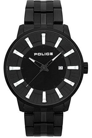Police Policja męski chronograf zegarek kwarcowy z paskiem ze stali nierdzewnej PL.15391JSB/02M