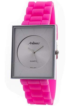 ARABIANS Męski analogowy zegarek kwarcowy z silikonowym paskiem DBP2046W