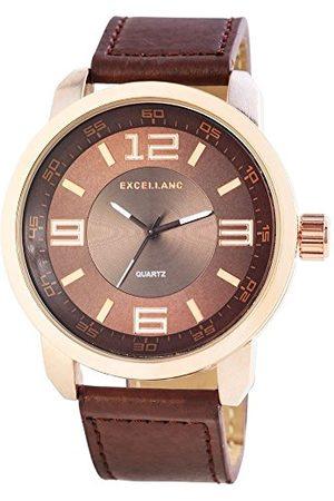 Excellanc Męski zegarek na rękę XL analogowy kwarcowy różne materiały 295037000148