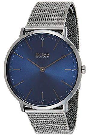 HUGO BOSS Męski analogowy zegarek kwarcowy z paskiem ze stali nierdzewnej 1513734