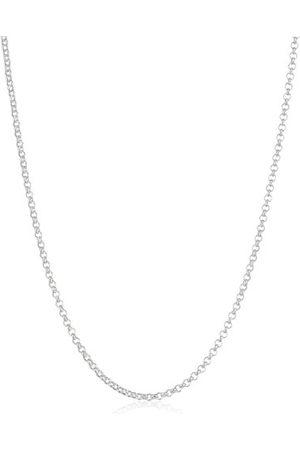 Zimtstern Unisex-łańcuszek ze srebra wysokiej próby 925 38 cm z przedłużeniem 2 cm E20/40-38