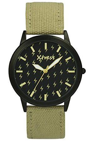 XTRESS Męski analogowy zegarek kwarcowy z nylonową bransoletką XNA1035-38