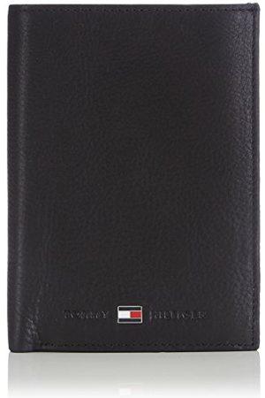 Tommy Hilfiger Johnson N/S Wallet W/Coin Pocket Portmonetka Męska, 14 X 10 X 2 Cm, (Black 002)