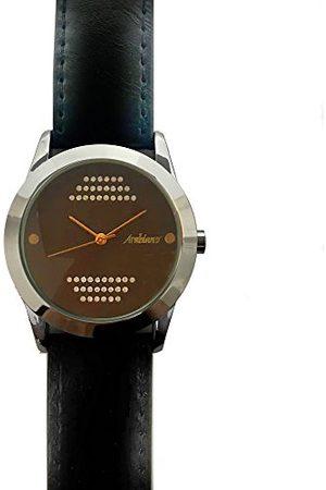 Arabians Męski analogowy zegarek kwarcowy ze skórzanym paskiem DBA2091LB