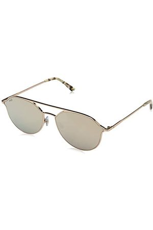 Web Unisex WE0208 okulary przeciwsłoneczne dla dorosłych, brązowe (Shiny Light Bronze/Brown Mirror), 59