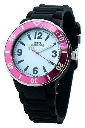 Watx Analogowy zegarek kwarcowy z gumowym paskiem RWA1623-C1512