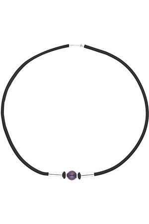 Pearls & Colors Męski - srebro wysokiej próby 925 ze szlifem okrągłym, perła słodkowodna