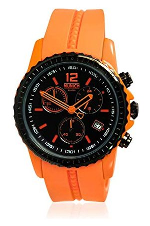 Munich Unisex dla dorosłych analogowy zegarek kwarcowy z silikonowym paskiem MU+101.5A