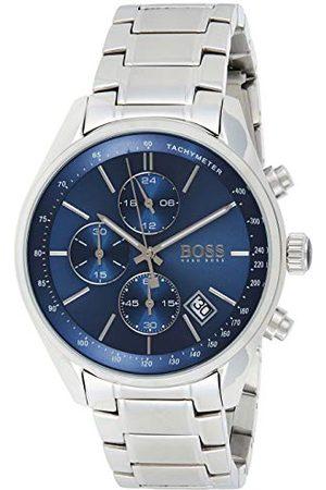 HUGO BOSS Męski zegarek kwarcowy Chronograf z bransoletką ze stali nierdzewnej – 1513478