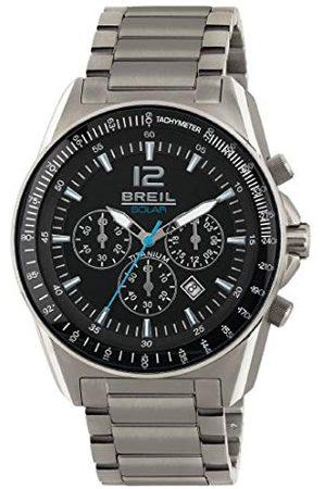 Breil Męski chronograf kwarcowy Smart Watch zegarek na rękę z tytanową bransoletką TW1657