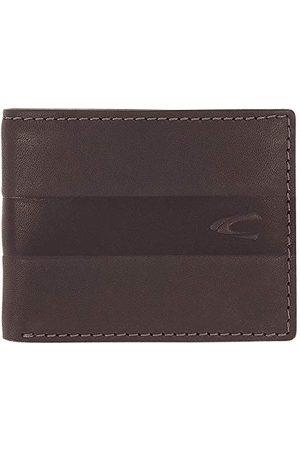 Camel Active Portmonetka, RFID, męska, portfel, portfel, portfel, portfel dżinsowy, Mali, ciemnobrązowy
