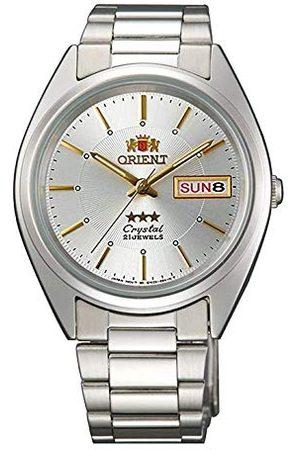 Orient Unisex dla dorosłych analogowy automatyczny zegarek z bransoletką ze stali szlachetnej FAB0006W9