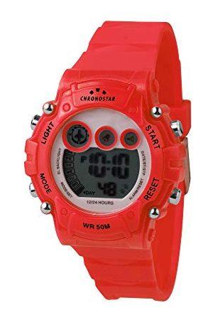 Chronostar Męski zegarek cyfrowy z plastikową bransoletką R3751277003