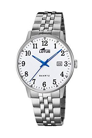 Lotus Męski analogowy zegarek kwarcowy z bransoletką ze stali szlachetnej 18694/1