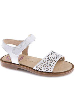 Pablosky Dziewczęce 479400 sandały Peeptoe, białe, - - 31 EU