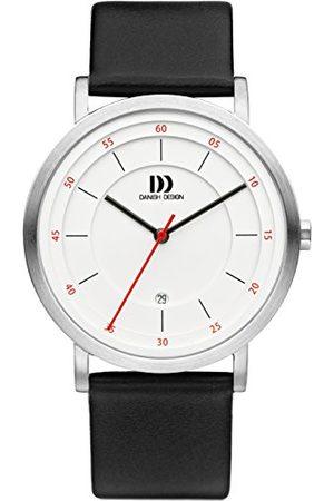 Danish Design Męski analogowy zegarek kwarcowy ze skórzanym paskiem IQ12Q1152