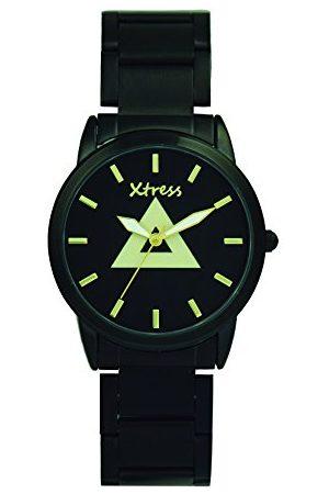 XTRESS Męski analogowy zegarek kwarcowy z bransoletką ze stali szlachetnej XNA1037-06