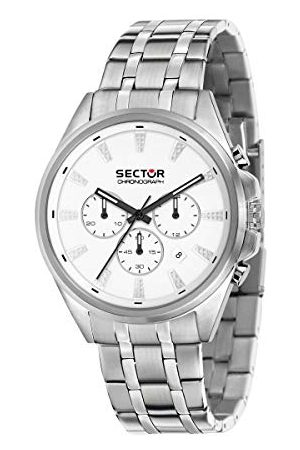 Sector No Limits męski analogowy zegarek kwarcowy z bransoletką ze stali szlachetnej R3273991005