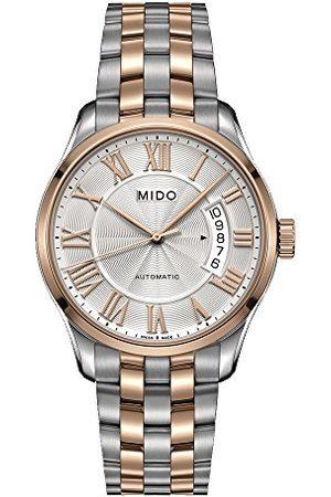 MIDO Męski analogowy automatyczny zegarek z bransoletką ze stali szlachetnej M0244072203300