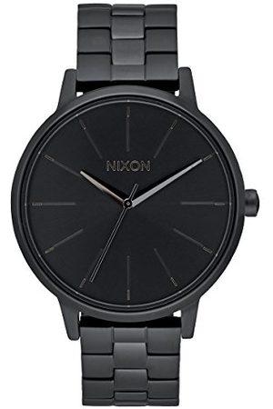 Nixon Analogowy zegarek kwarcowy unisex z bransoletką ze stali szlachetnej A099-001-00