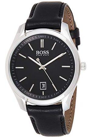 HUGO BOSS 1513729 męski analogowy zegarek kwarcowy ze skórzanym paskiem