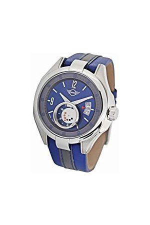 Boden Mini Unisex dorosły analogowy klasyczny zegarek kwarcowy ze skórzanym paskiem 161002