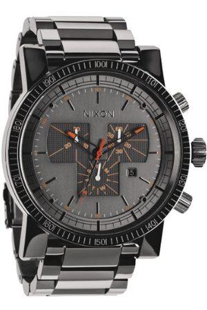 Nixon Męski zegarek na rękę XL Magnacon SS chronograf kwarcowy stal szlachetna powlekana A1541235-00