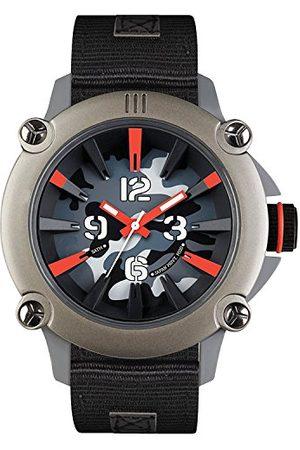 Eñe Męski analogowy zegarek kwarcowy z nylonowym paskiem 640000111