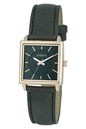 Arabians Męski analogowy zegarek kwarcowy ze skórzanym paskiem DBA2252N