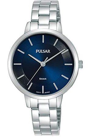 Pulsar Kwarcowy damski zegarek ze stali nierdzewnej z metalowym paskiem PH8475X1