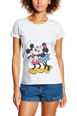 Disney Damskie Mickey Mouse Minnie pocałunek topy