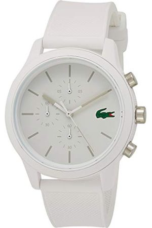 Lacoste Męski chronograf kwarcowy zegarek z paskiem silikonowym 2010974