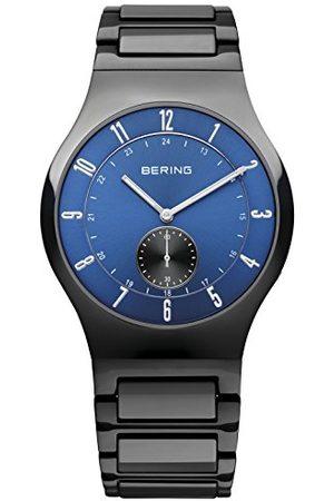Bering Męski analogowy zegarek kwarcowy z ceramiczną bransoletką 51740-727