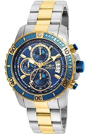 Invicta 22415 Pro Diver - męski zegarek na rękę z akwalungiem ze stali nierdzewnej kwarcowy niebieska tarcza