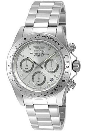 Invicta 14381 Speedway Unisex zegarek stal szlachetna kwarcowy cyferblat