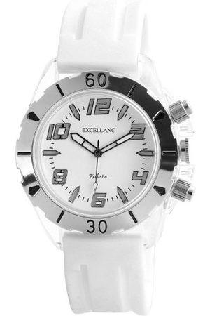 Excellanc Męski zegarek na rękę LED Collection analogowy kwarcowy 22572200005
