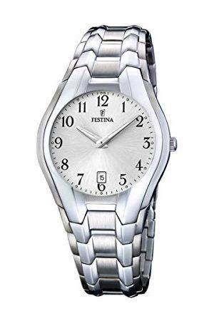 Festina F16370/6 męski analogowy zegarek kwarcowy z bransoletką ze stali nierdzewnej