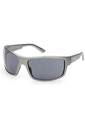 SKECHERS EYEWEAR Męskie okulary przeciwsłoneczne SE6116, matowy / , 70