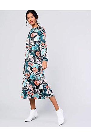 Glamorous Damska sukienka midi z długim rękawem