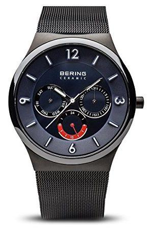 Bering Męski zegarek na rękę analogowy kwarcowy stal szlachetna 33440-227